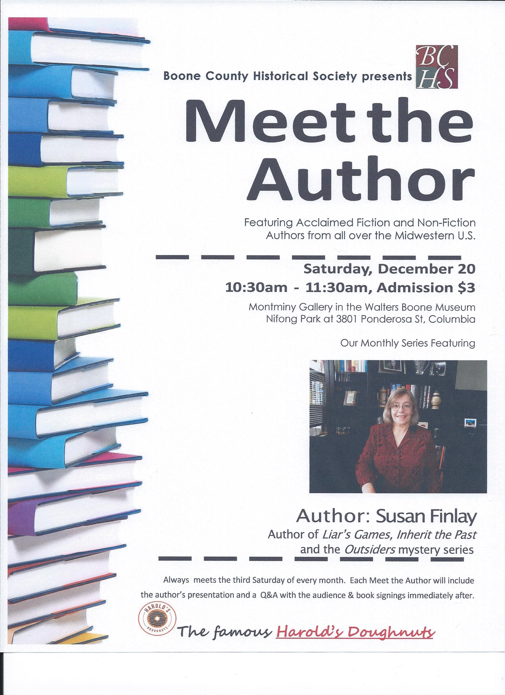 Susan Book Talk Flyer